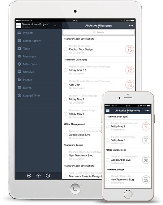 Teamwork.com - Project Management, Help Desk & Chat Software