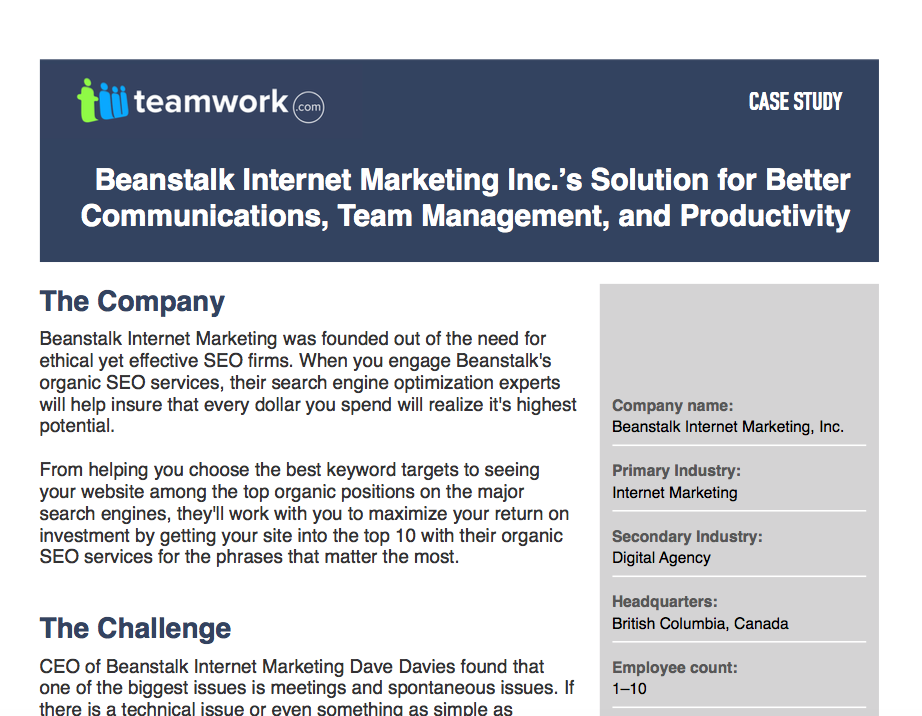 Beanstalk Internet Marketing Inc.