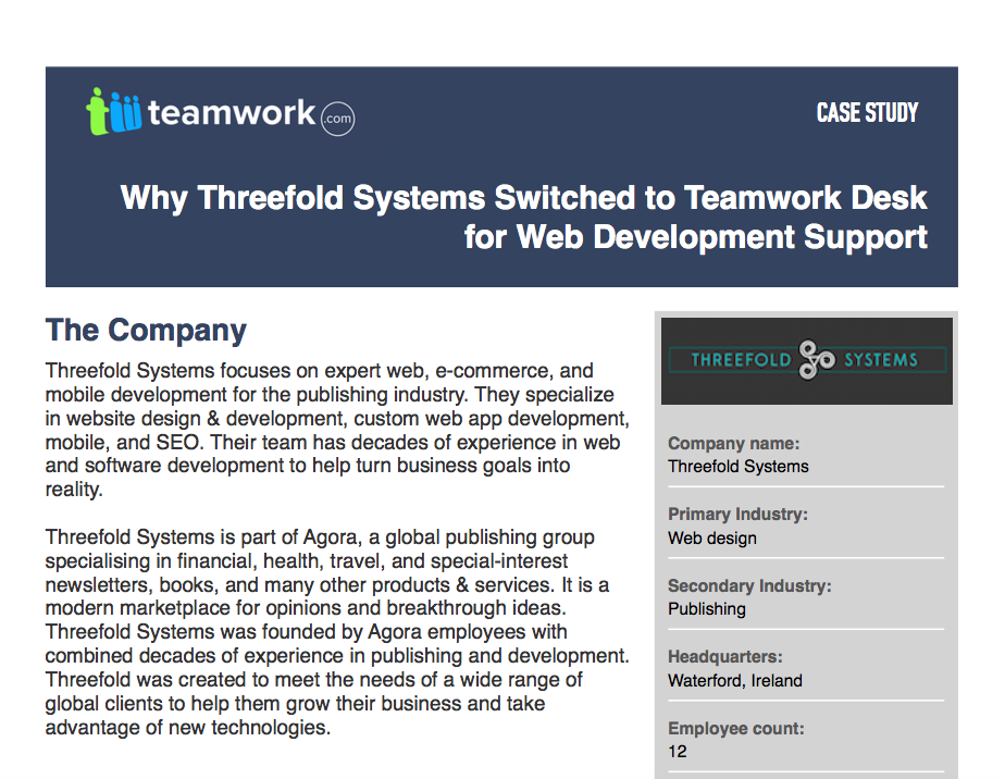 Threefold Systems