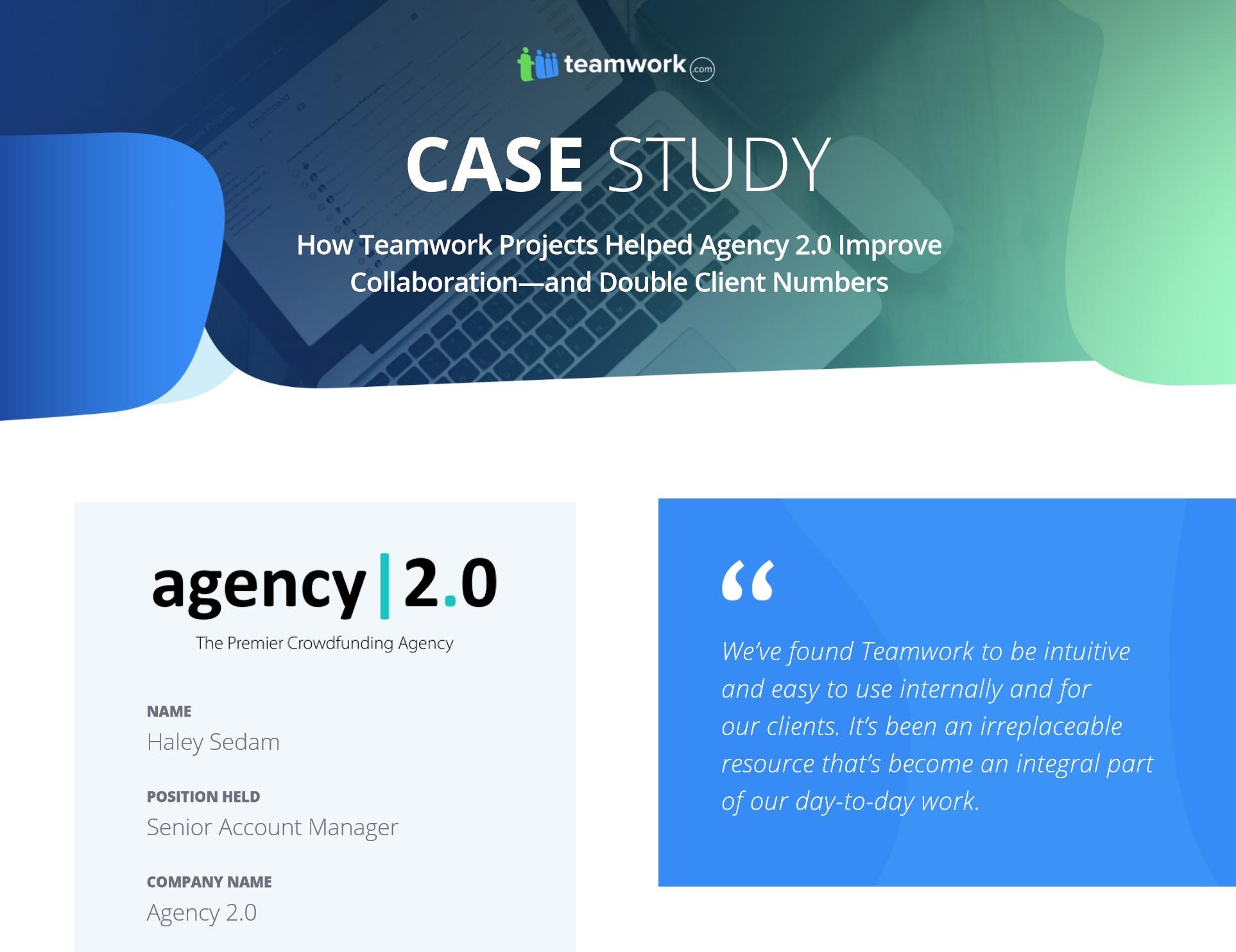 Agency 2.0