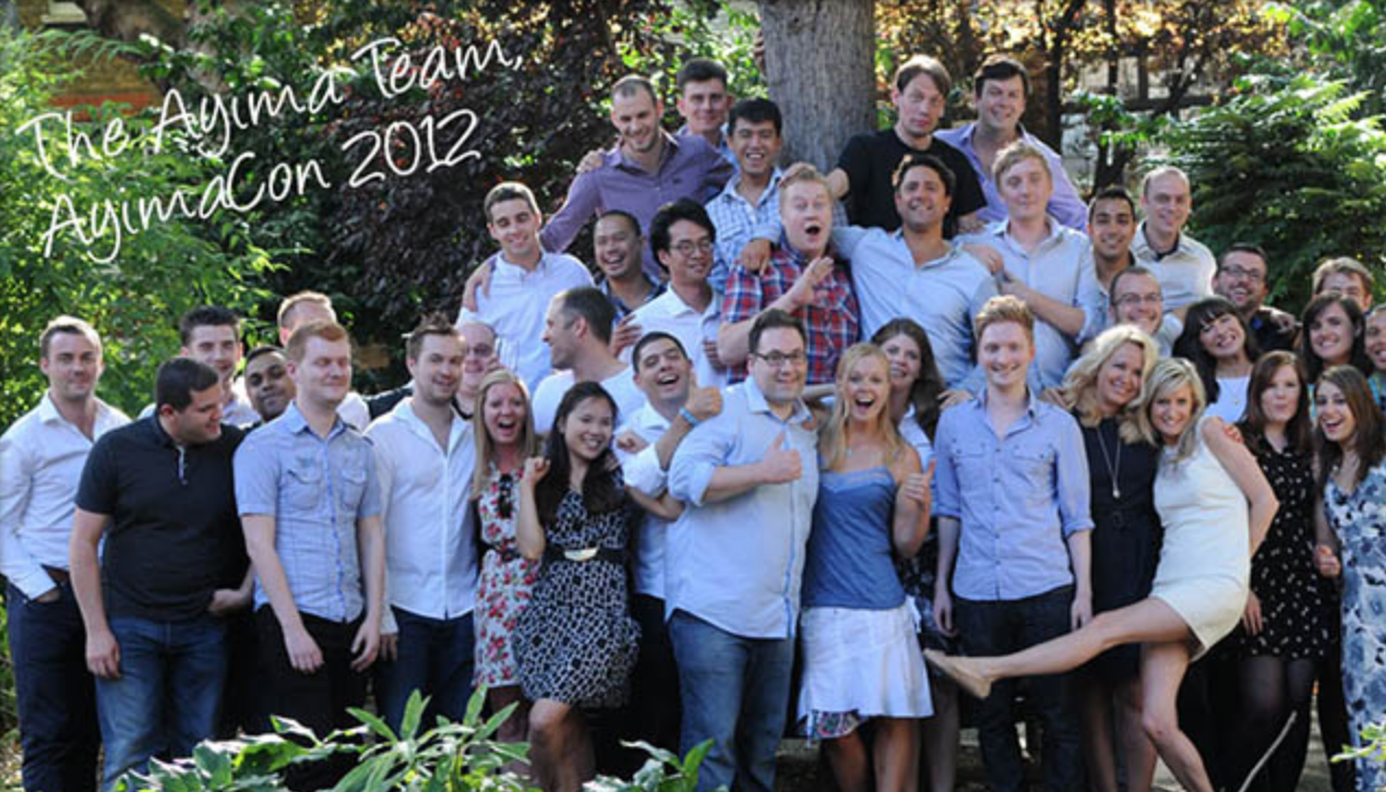 The Ayima Team at AyimaCon 2012 | Teamwork.com Blog