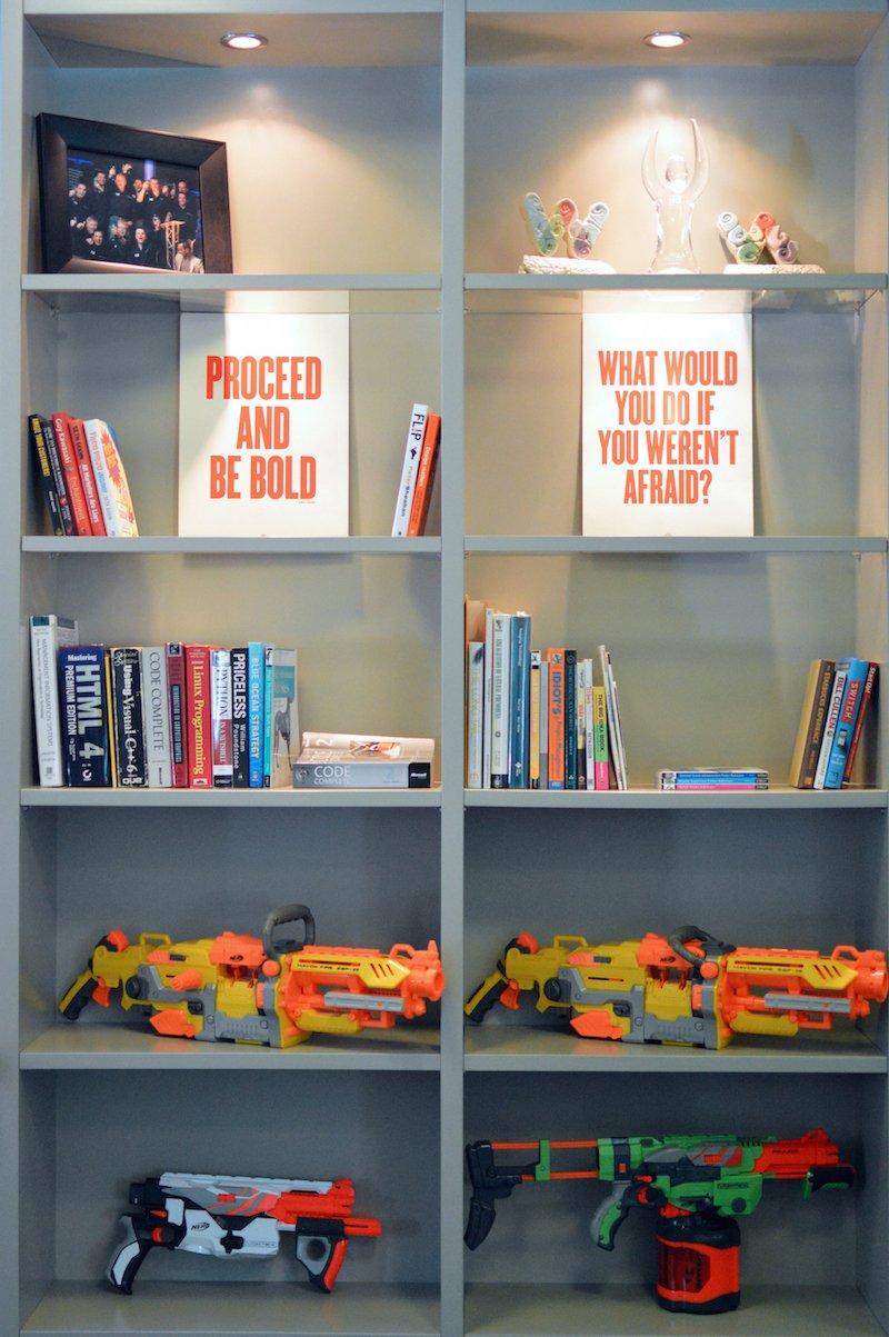 photo of Teamwork.com HQ tech library