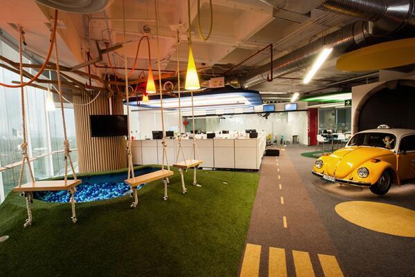 google breakout area