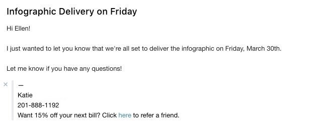referral request email template