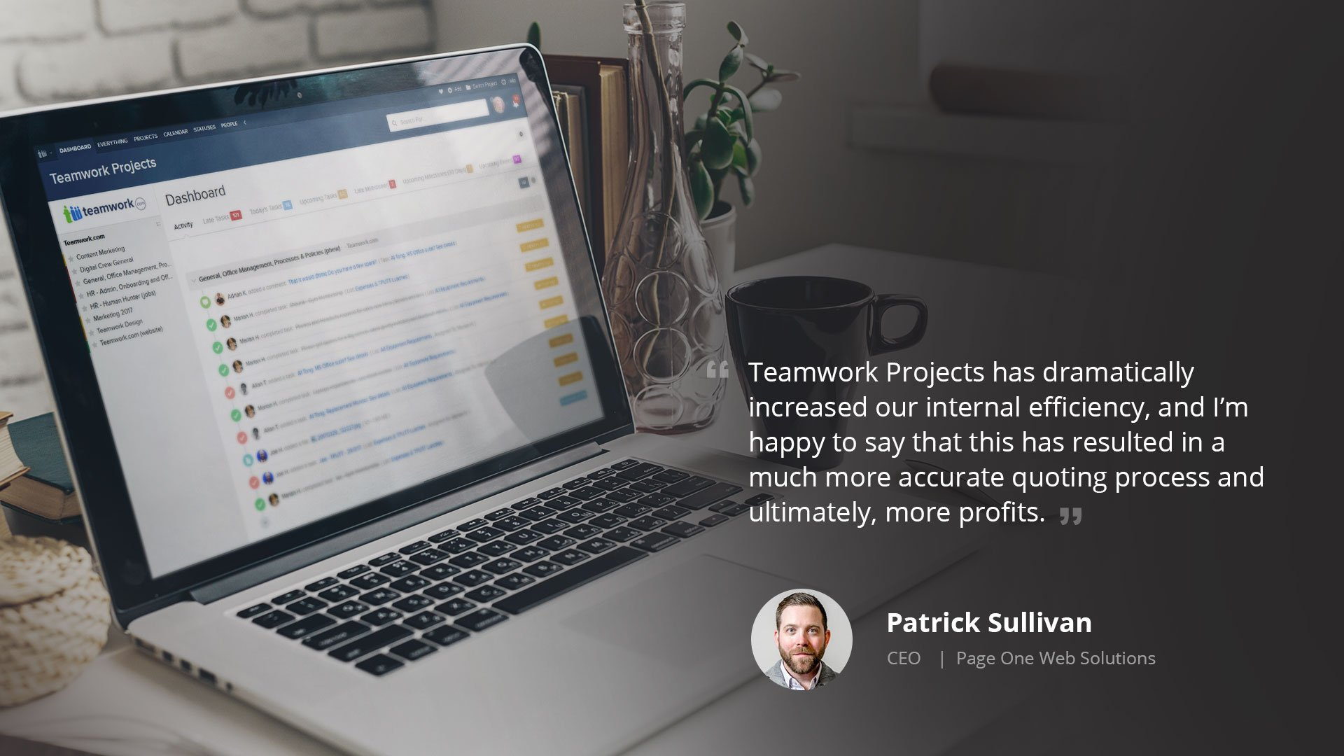 Using Teamwork Projects to Improve Time Management & Maximize Profitability