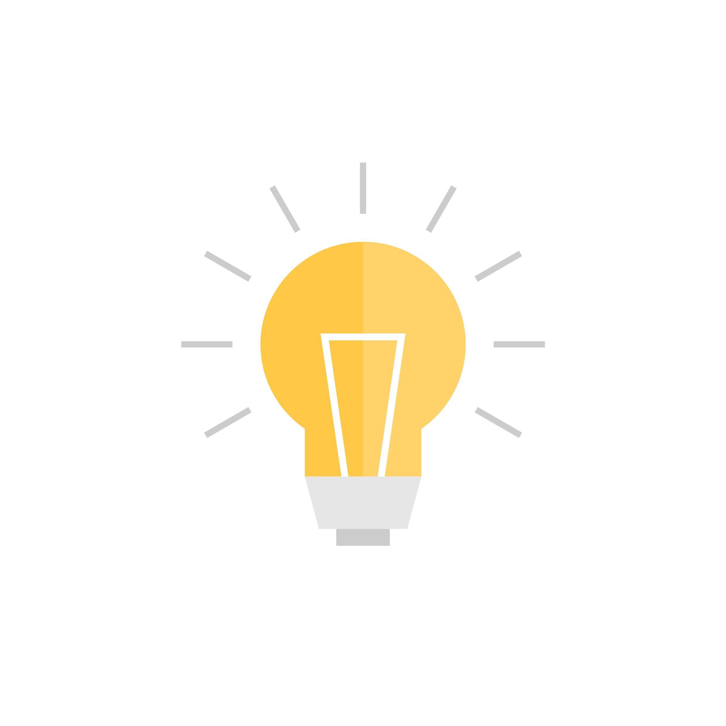lightbulb idea concept