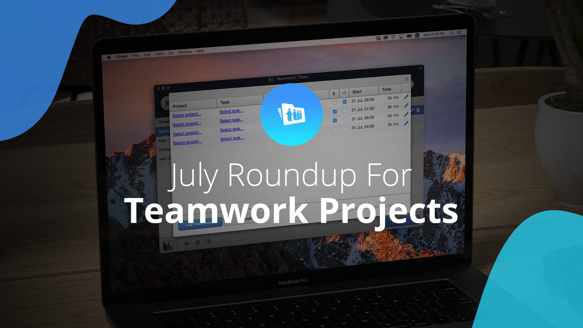 July Updates for Teamwork Projects: Improved Time Tracking & Client Onboarding