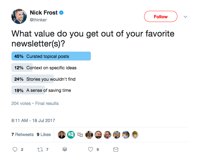 Nick Frost on Twitter