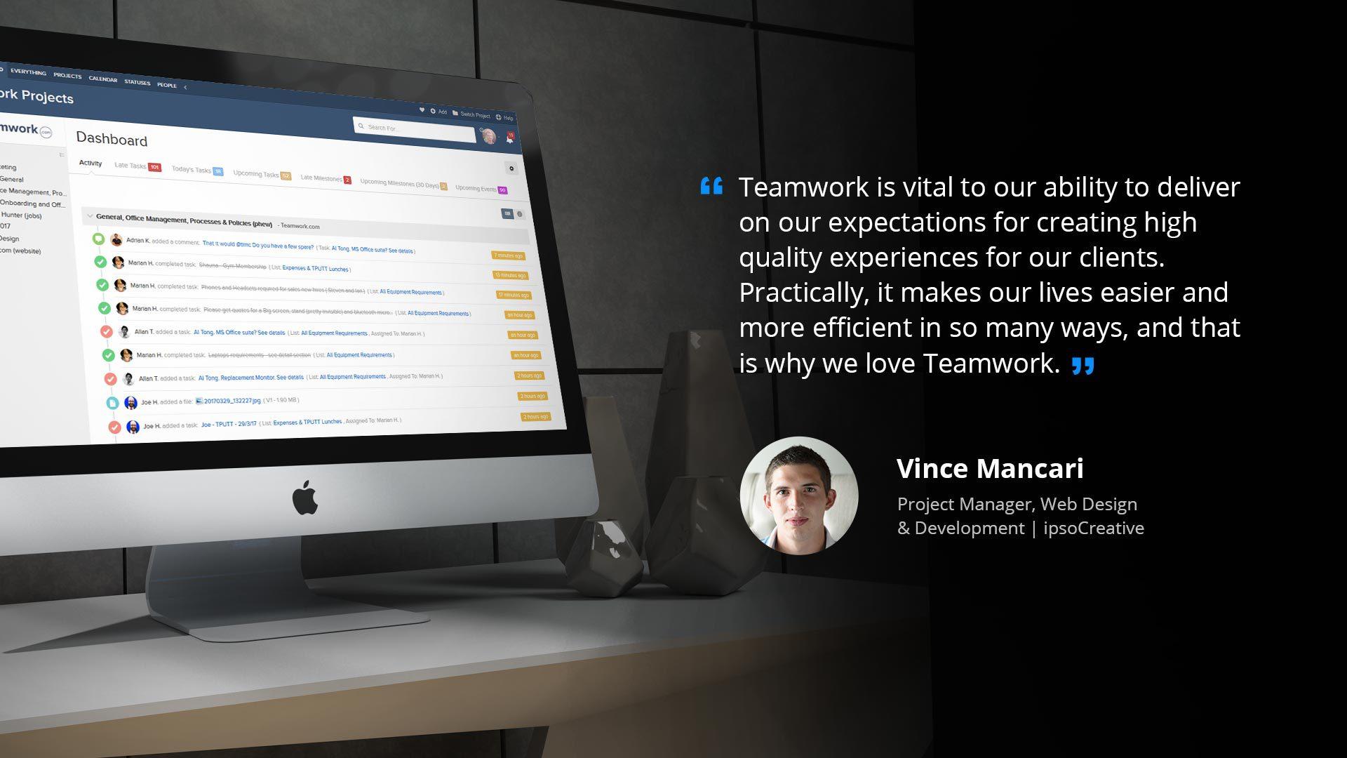 ipsoCreative & Teamwork Projects Case Study | Teamwork.com Blog