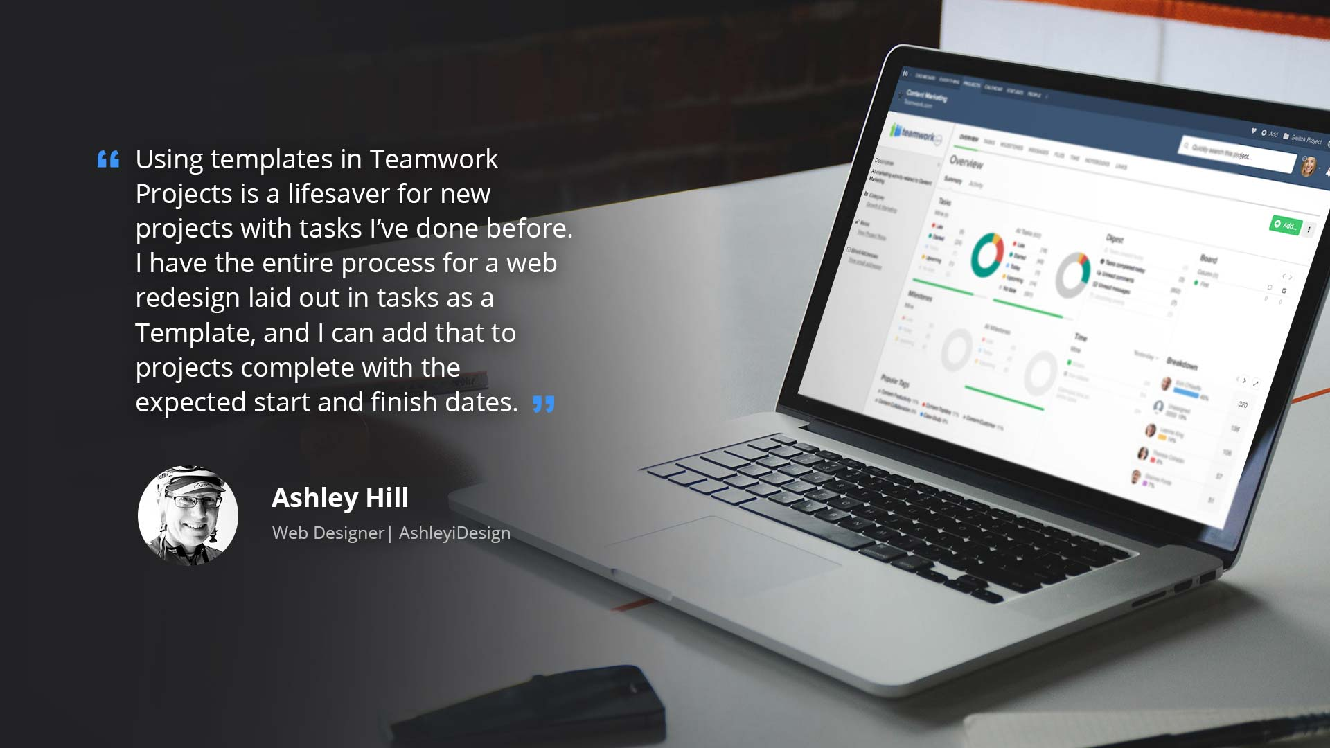 Ashleyidesign – Teamwork Projects Creates Success for Solo Agencies | Teamwork.com