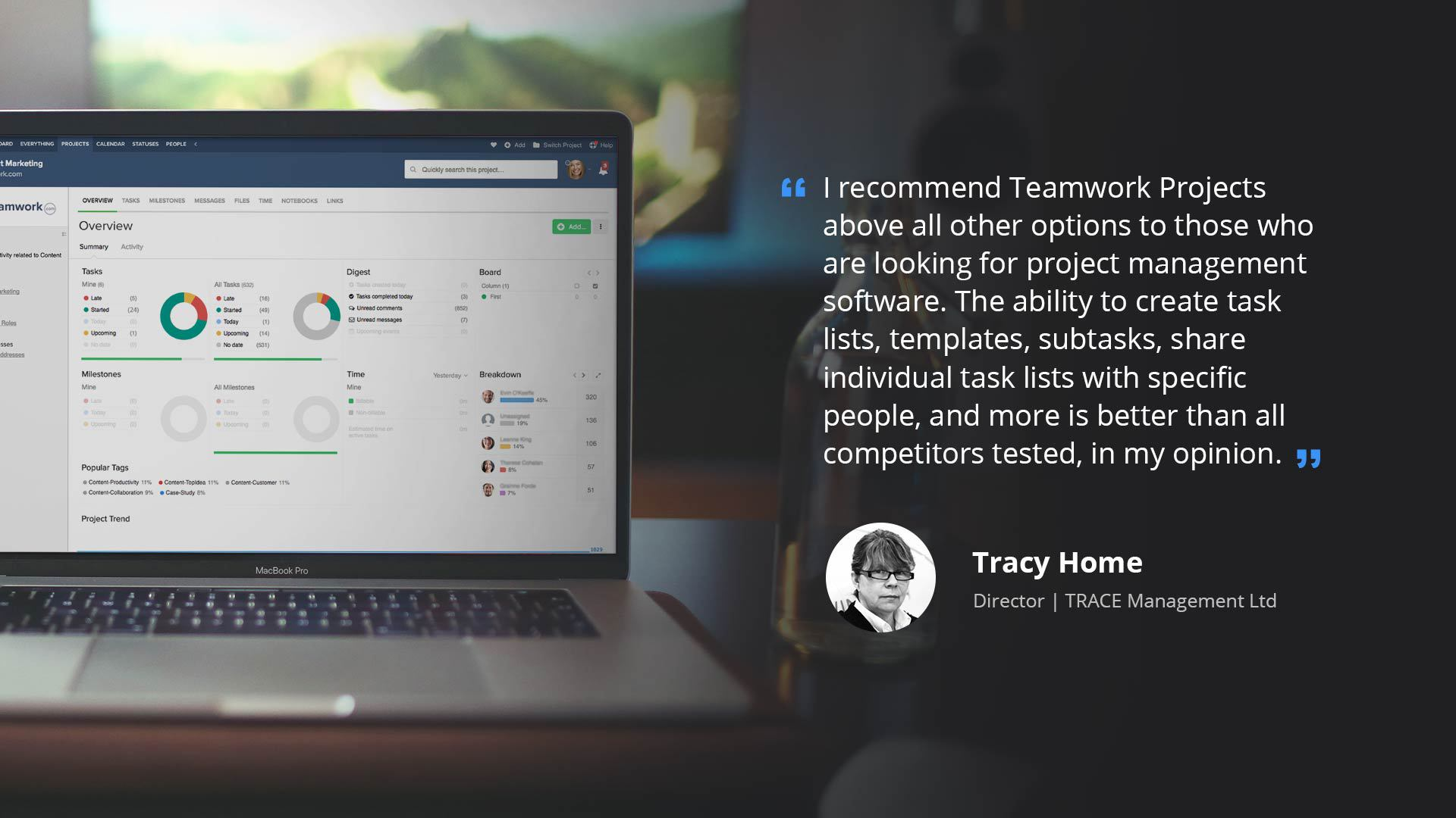 Teamwork Projects Tames Complex Regulations with Detailed Task Lists | Teamwork.com