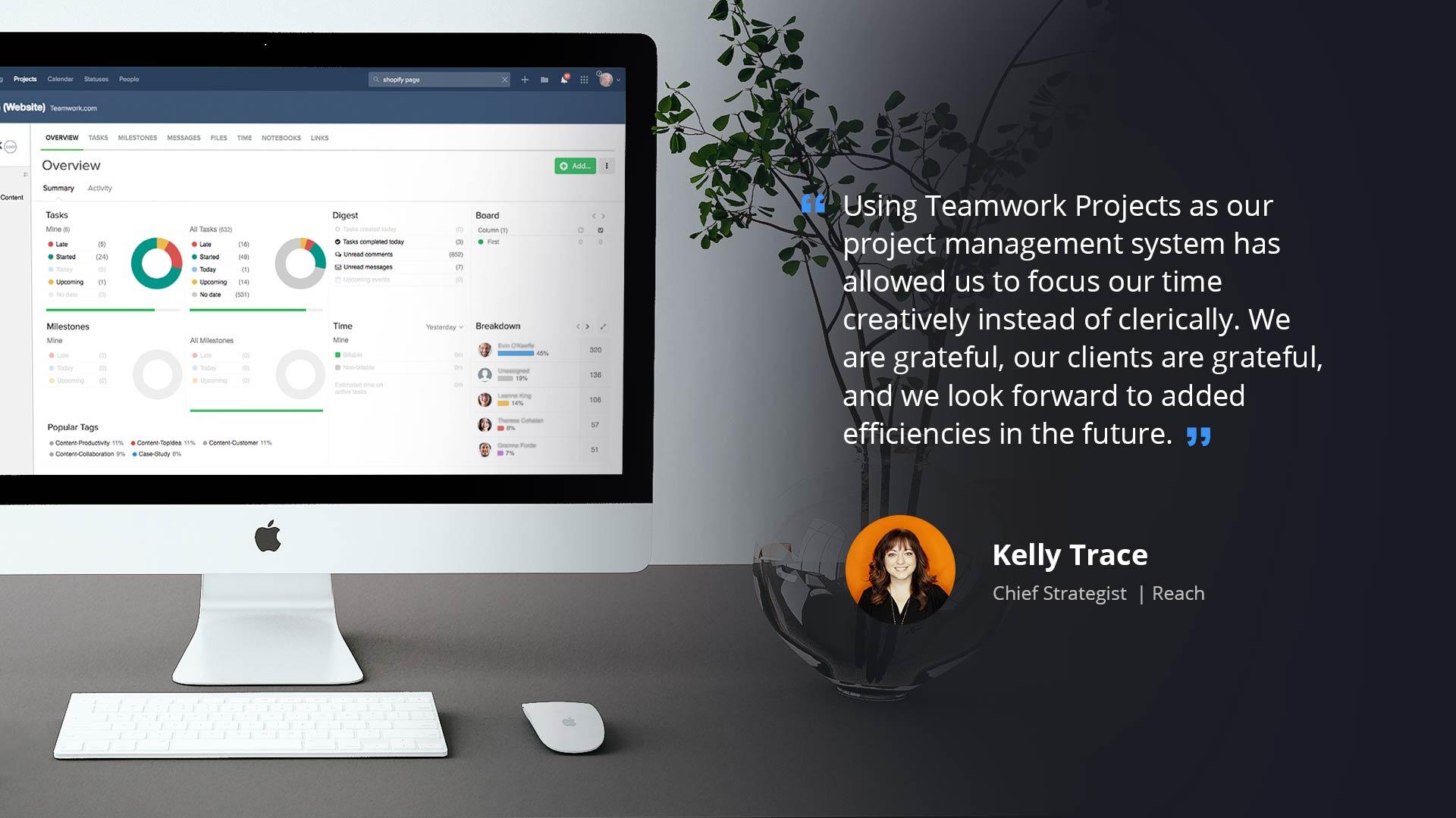 Reach and Teamwork Projects | Teamwork.com