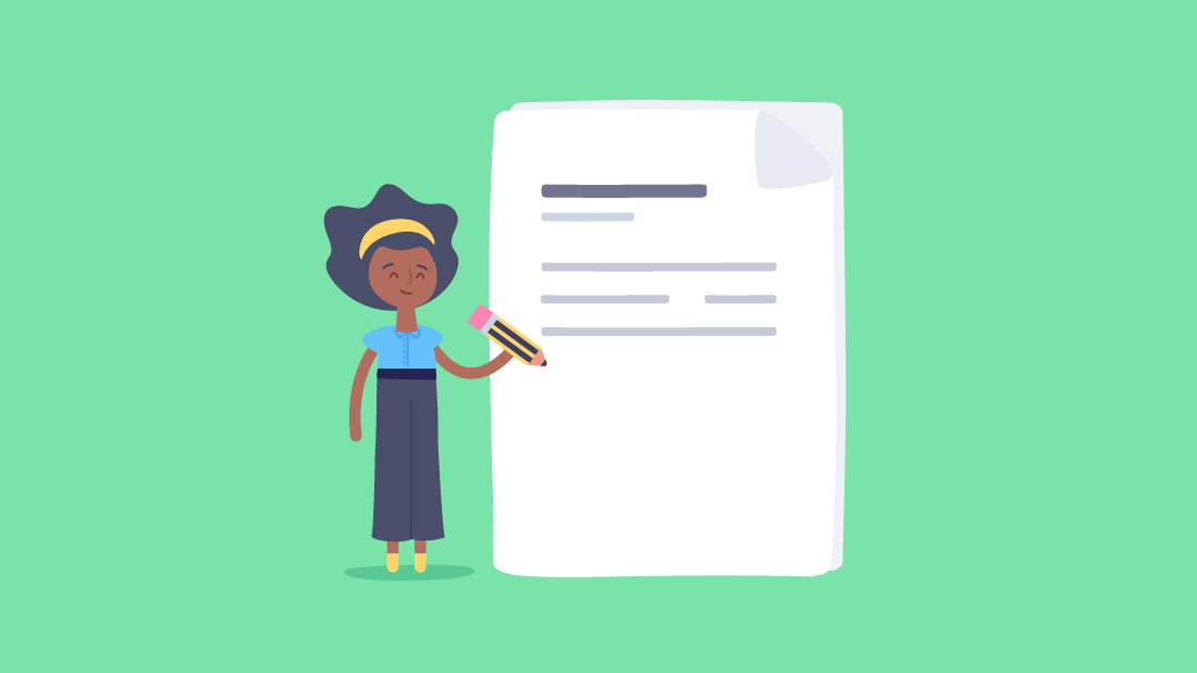How do you write a project charter?