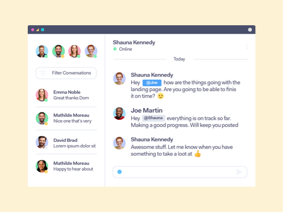 Teamwork Chat for Remote Work