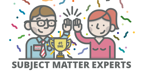 support subject matter experts
